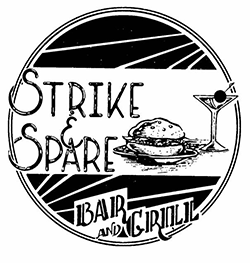 Strike & Spare Menu